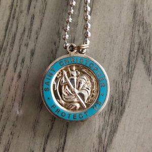 Jewelry - Saint Christopher medallion necklace